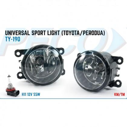 TY-190 UNIVERSAL SPORT LIGHT (TOYOTA/PERODUA)