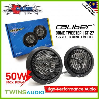 Caliber Dome Tweeter CT-27 Car Tweeter Speaker