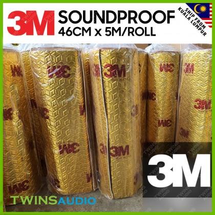 3M Car Sound Proofing 46cm X 5 meters per roll Deadening Insulation Heat