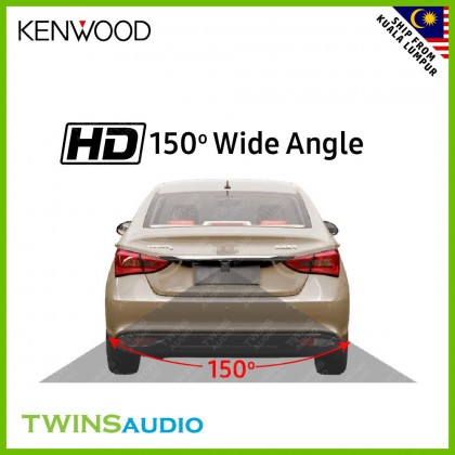 KENWOOD CMOS-10 Universal Rear View Parking Camera with 1/4inch Color CMOS Sensor