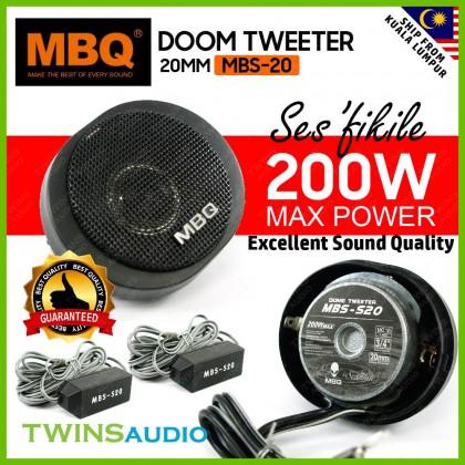 Car Dome Tweeter Speaker MBQ MBS-S20