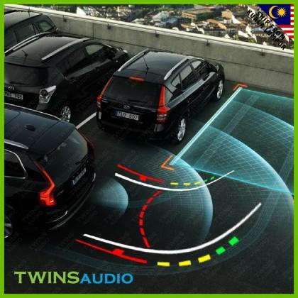 Car Reverse Camera with Dynamic Trajectory Tracks Rear view Camera | C1-T