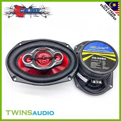 "Caliber Car Speaker CS-6960 - 6""X9"" 4-Way Coaxial Car Speakers 500 Watts Car Speakers"