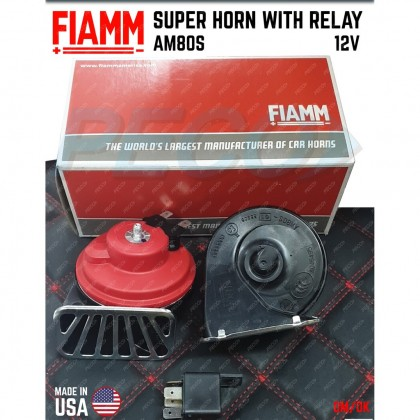 FIAMM SUPER HORN WITH RELAY (AM80S)