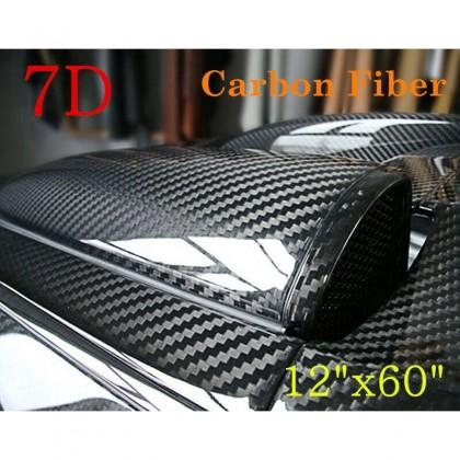 7D Waterproof Carbon Fiber Vinyl Car Wrap Sheet Roll Film Sticker Decal Car Styling (30cm  x 152cm / 12 inch x 60 inch)