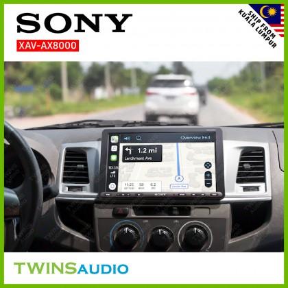 "SONY Car Player 8.95"" (22.7CM) – Sony's XAV-AX8000 Bluetooth® car stereo with Apple Car Play WebLink Cast 100% Original 1 warranty"