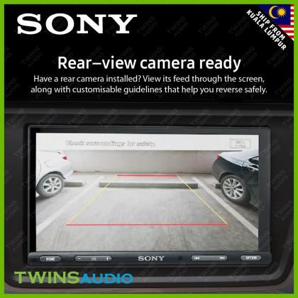 "SONY Car Player 6.2"" – SONY XAV-AX5500 Bluetooth Media Receiver with WebLink Cast 100% Original 1 warranty"