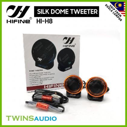 HIFINE CAR SPEAKER TWEETER 120W SILK DOME TWEETER HIFINE HI-H8