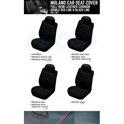 MOLANO SEMI LEATHER SEAT COVER