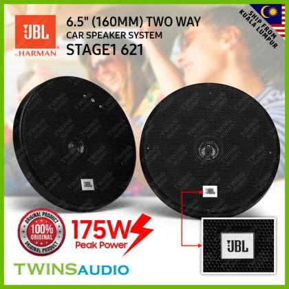 "JBL Stage1 6-1/2"" (160mm) Two Way Component System Car Speaker JBL Stage1 621 / 601C JBL 100% Original 1 Year Warranty"
