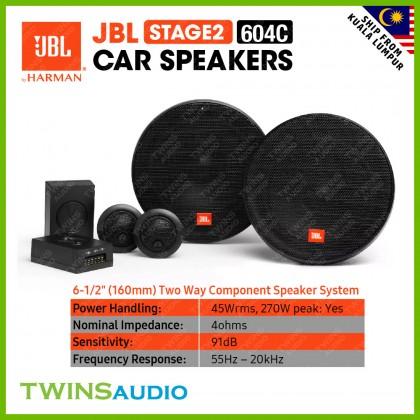 JBL Stage2 Series 604C 424 634 624 Car Speaker System JBL 100% Original