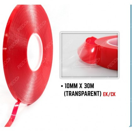 10MMX30M DOUBLE SIDE TAPE (BIG-TRANSPARENT)