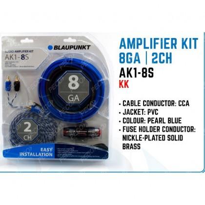 BLAUPUNKT AK1-8S 8GA AMPLIFIER KIT CABLE