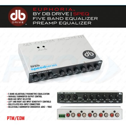 DB DRIVE SPEQ 5 BAND PRE AMPLIFIER
