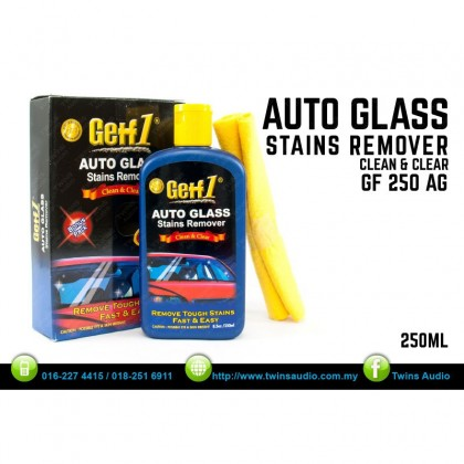 GETF 1 AUTO GLASS STAINS REMOVER - 250ML