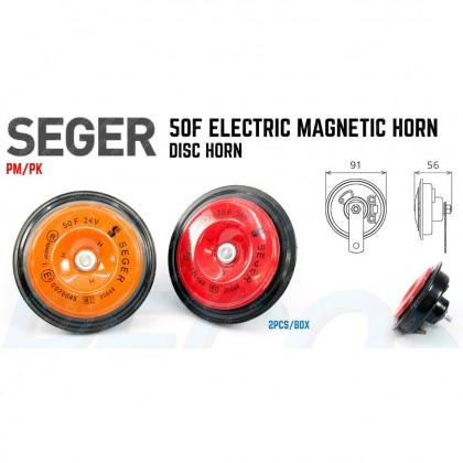Seger 50F electric magnetic horn disc horn