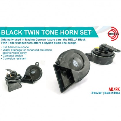 HELLA TWIN TONE BLACK HORN(3FH007728831)
