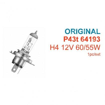 OSRAM 64193 H4 55W HALOGEN BULB